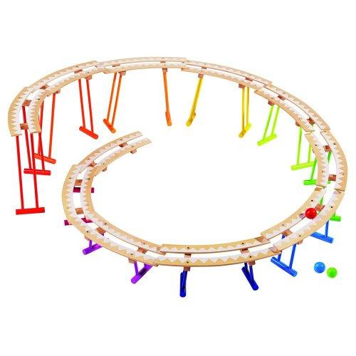 Μεγάλο ξύλινο Roller Coaster Goki 53914