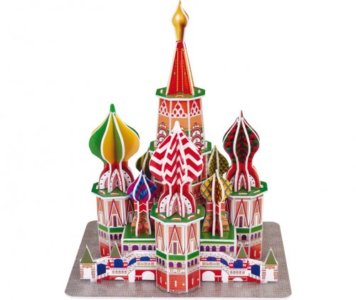 3D Puzzle St. Basil Cathedral Small foot Κωδ. 8917