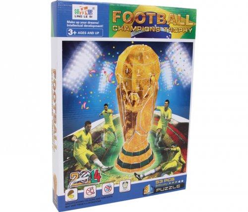 3D Puzzle Κύπελλο Ποδοσφαίρου Small foot  Κωδ. 9593