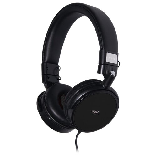 CRYPTO HEADPHONE [HP-150 Black] On-Ear Close