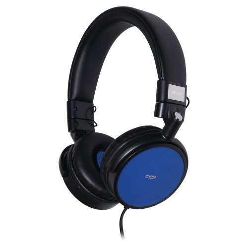 CRYPTO HEADPHONE [HP-150 Black/Blue] On-Ear Close