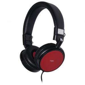 CRYPTO HEADPHONE [HP-150 Black/Red] On-Ear Close