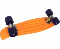 Skateboard Neon Orange Small Foot 6785