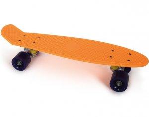 Skateboard Neon Orange Small Foot 6785