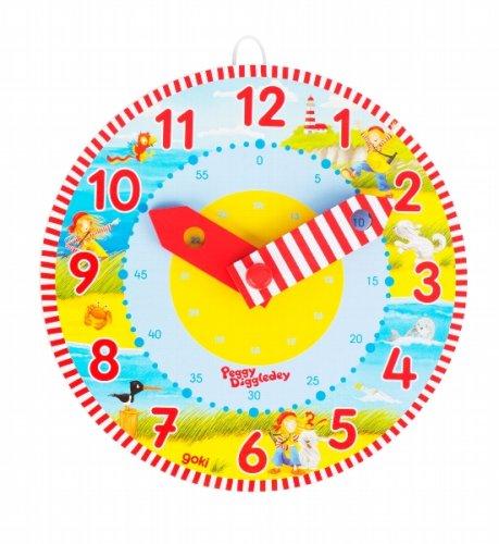 Ρολόι , μαθαίνω την ώρα Peggy Diggledey Goki Κωδ. 58526