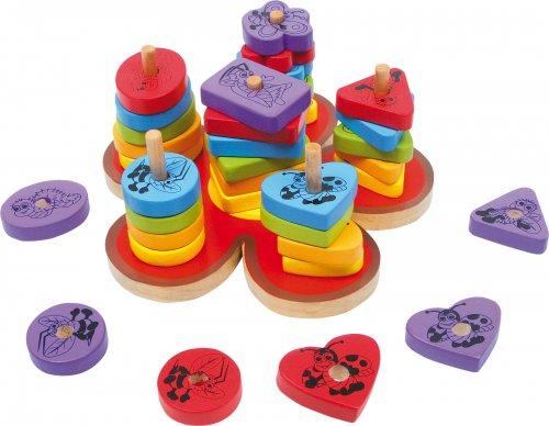 Παιχνίδι Δραστηριότητας Λουλούδι Small Foot Κωδ : 6233