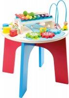 2 σε 1 παιχνίδι δεξιοτήτων και μουσικό τραπέζι Small Foot 10321
