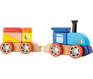 Ξύλινο σετ Τραίνο Small Foot 10340