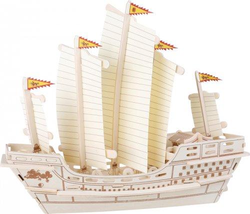 3D παζλ Ιστιοπλοικό Καράβι Zheng He SmallFoot 6944