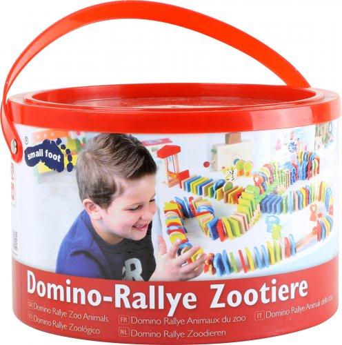 Ντόμινο - Rally Άγρια Ζωάκια Small Foot 4248