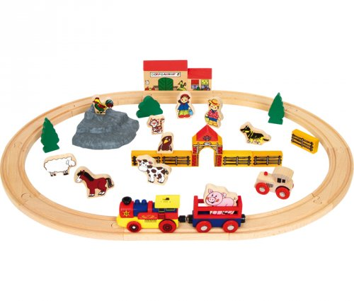 Αγρόκτημα και Σιδηρόδρομος Small Foot 9536