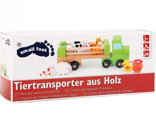 Όχημα μεταφοράς ζώων Small Foot Κωδ 10317