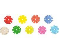 Δημιουργίες με γεωμετρικά σχήματα Flower Small Foot Κωδ 10415