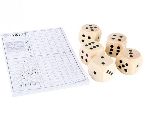 Παιχνίδι με μεγάλα ζάρια Small Foot Κωδ 8697