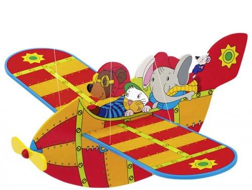 Mobile Αεροπλανάκι ζώων Goki GK128