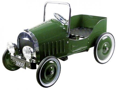 Πράσινο Όχημα με πεντάλι Goki 14073