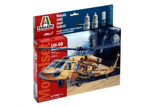 UH 60 DESERT HAWK MODEL SET Italeri Κωδ: 71025