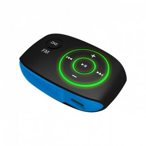 CRYPTO MP3 [MP301 8GB BLACK/ BLUE]