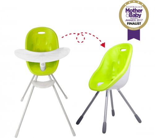 Καρεκλάκι φαγητού - παιδικό κάθισμα Poppy Lime phil&teds