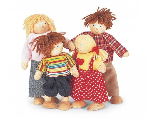 Pin Toys Σετ 'οικογένεια' κουκλόσπιτου 06575