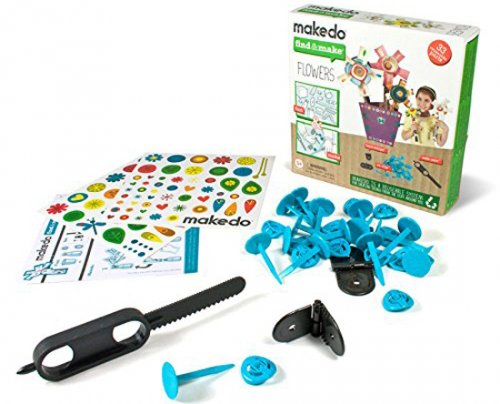 Makedo flowers find and make