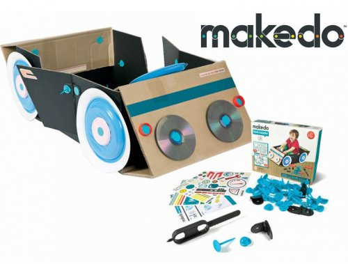 Makedo car find and make