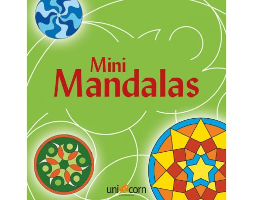 Mini Mandalas Πράσινο UNICORN 1891861