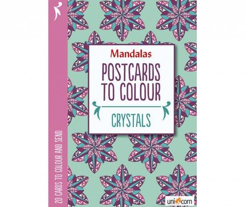 Mandalas Καρτποστάλ Παγοκρύσταλλοι UNICORN 9835720