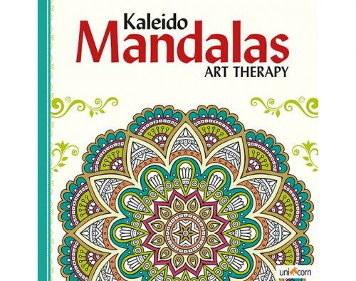 Kaleido Mandalas Art Therapy WHITE  UNICORN 9835782