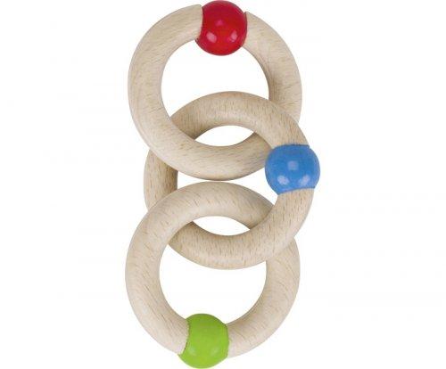 Παιχνίδι Λαβής με 3 Δαχτυλίδια Goki 764740