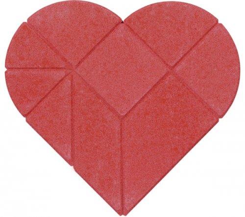 Παζλ από πέτρα, Καρδιά Goki 57752