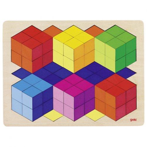 Ξύλινο Παζλ 3D Goki  57664
