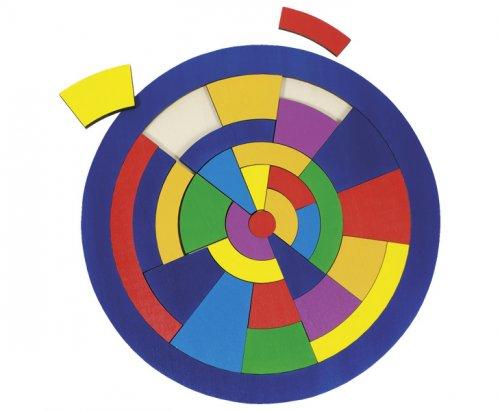 Ξύλινο παζλ Κύκλος Goki  57849