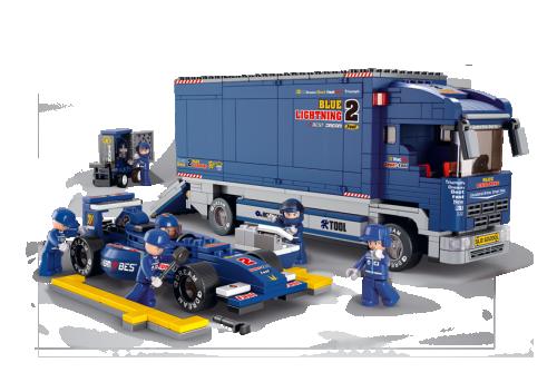 Formula με φορτηγό  Sluban M38-B0357