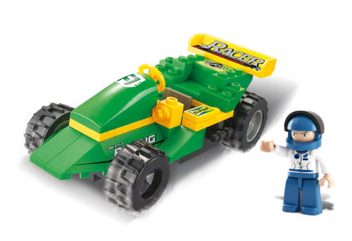 Αγωνιστικό αυτοκινητάκι  Sluban M38-B0172