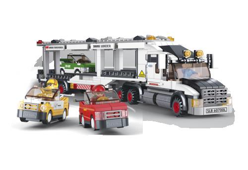 Φορτηγό Μεταφοράς Αυτοκινήτων Sluban M38-B0339