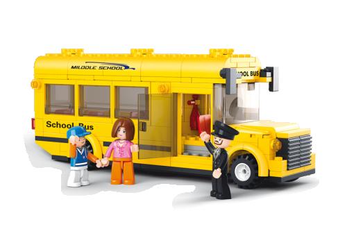 Σχολικό Λεωφορείο Sluban M38-B0507