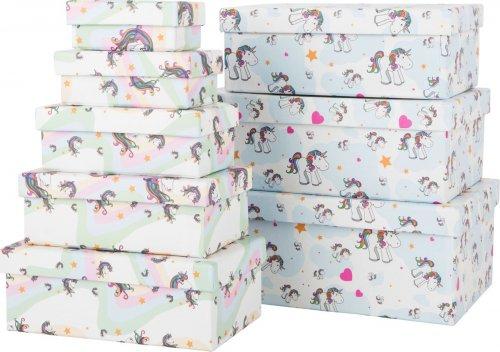 Unicorn Κουτιά Δώρων SmallFoot 10756-7