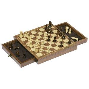 Μαγνητικό σετ σκακιού με συρτάρια GOKI 56919