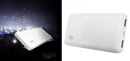 SP POWER BANK WHITE S50 5000mAh