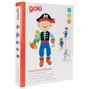 Μαγνητικό παιχνίδι «Ντύσε το αγόρι - Επαγγέλματα» Goki 58741