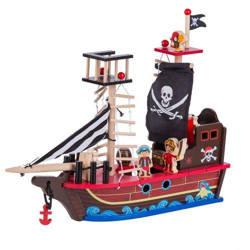 Ξύλινο Πειρατικό Καράβι Ecotoys 45455