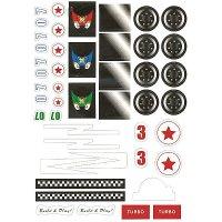 Κατασκευή Ξύλινου Αγωνιστικού Αυτοκινήτου Eduplay 800188