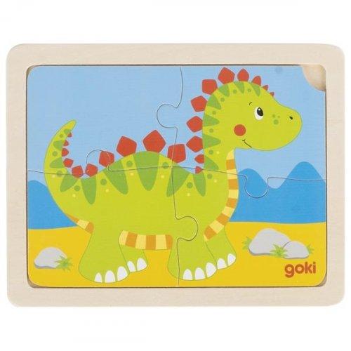 Παζλ «Δεινοσαυράκι» Goki 57487a