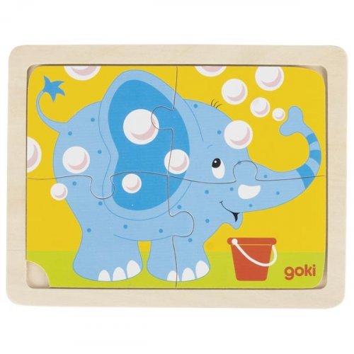 Παζλ «Ελεφαντάκι» Goki 57487c