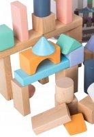 Σετ ξύλινα τουβλάκια 100 τεμάχια Ecotoys 45496