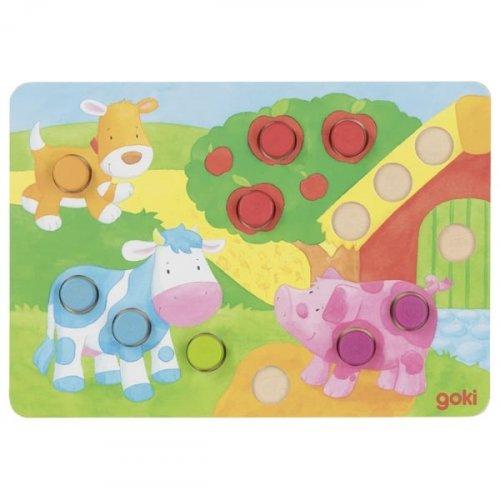 Επιτραπέζιο Συμπλήρωσε τα χρώματα II Goki 56813