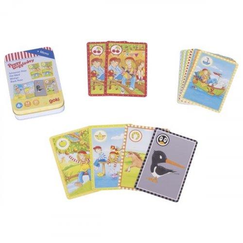 Black Peter παιχνίδι με κάρτες Peggy Diggledey Goki 56822