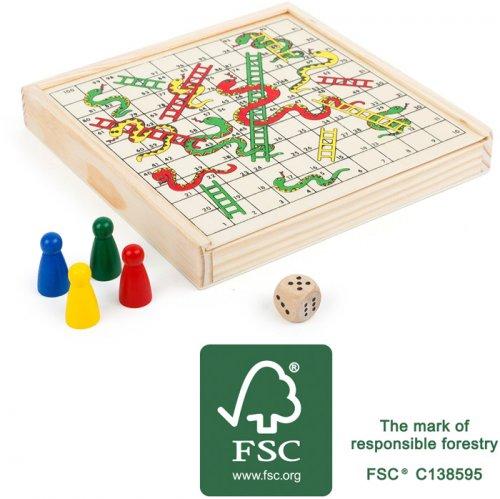 Επιτραπέζιο Παιχνιδι Ταξιδιού Φιδάκι Small Foot 11211