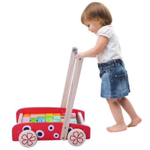 Περπατούρα με τουβλάκια «Πασχαλίτσα» Ecotoys 2111